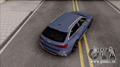 Audi RS6 C8 2020 pour GTA San Andreas