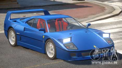 1995 Ferrari F40 V1.0 pour GTA 4