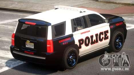Chevrolet Tahoe Police V1.0 pour GTA 4