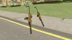 Micro SMG (Luxury Finish) GTA V Two Upgrades V7 pour GTA San Andreas