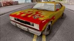 Plymouth Duster 340 Snake Hot Wheels für GTA San Andreas