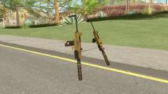 Micro SMG (Luxury Finish) GTA V Suppressor V3 für GTA San Andreas