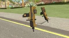 Micro SMG (Luxury Finish) GTA V Scope V1 für GTA San Andreas