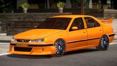 Peugeot 406 Taxi V1.0 pour GTA 4