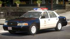 Ford Crown Victoria Police V1.2 für GTA 4