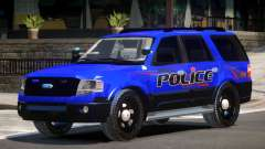 Ford Expedition Police V1.2 pour GTA 4