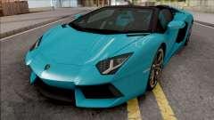 Lamborghini Aventador LP700-4 Roadster 2013 HQ pour GTA San Andreas