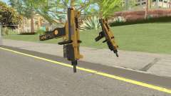 Micro SMG (Luxury Finish) GTA V Flashlight V2 pour GTA San Andreas