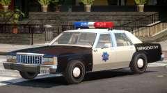 1987 Ford Crown Victoria Police V1.0 für GTA 4