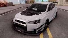 Mitsubishi Lancer Evolution X 2015 Varis Kit