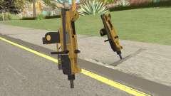 Micro SMG (Luxury Finish) GTA V Flashlight V1 für GTA San Andreas
