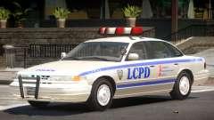 Ford Crown Victoria Police V1.1 pour GTA 4