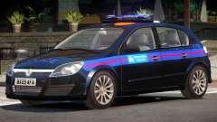 Vauxhall Astra Police V1.0 für GTA 4