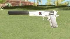Silenced Pistol (White)
