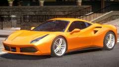 Ferrari 488 Improved pour GTA 4
