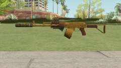 Assault Rifle GTA V (Three Attachments V4) pour GTA San Andreas