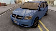 Dodge Grand Caravan 2009 für GTA San Andreas