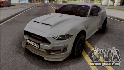 Shelby Super Snake 2019 pour GTA San Andreas