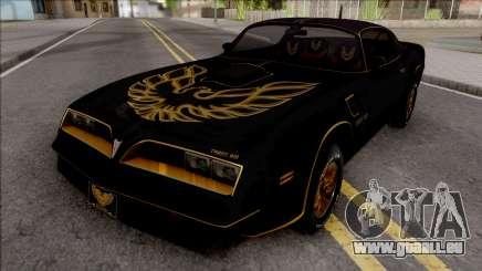 Pontiac Firebird Trans am 77 BlackOne pour GTA San Andreas