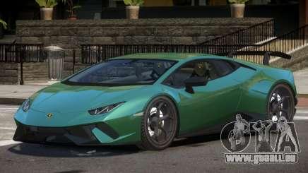 Lamborghini Huracan RS pour GTA 4
