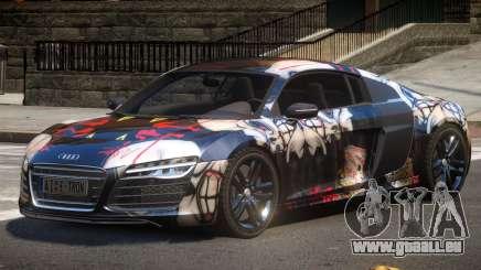 Audi R8 V10 GT PJ3 pour GTA 4