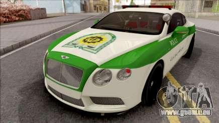 Bentley Continental GT Iranian Police für GTA San Andreas