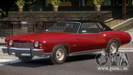 1972 Chevrolet Monte Carlo pour GTA 4