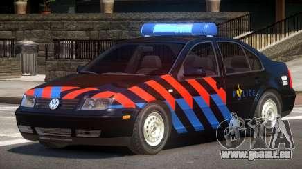 Volkswagen Bora Police V1.0 pour GTA 4