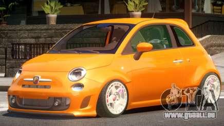 Fiat 500ST pour GTA 4