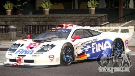 McLaren F1 GTR Le Mans Edition PJ1 pour GTA 4