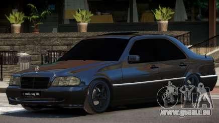 Mercedes Benz W202 C180 pour GTA 4