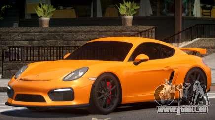Porsche Cayman GT4 V1.3 pour GTA 4