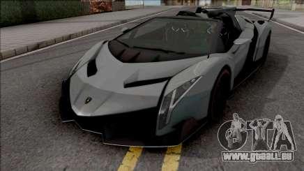 Lamborghini Veneno Roadster 2014 für GTA San Andreas