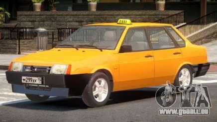 VAZ 21099 Taxi V1.0 pour GTA 4