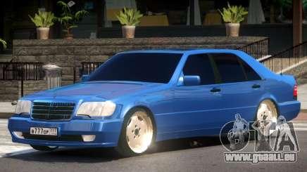 Mercedes Benz S600 V1.1 pour GTA 4