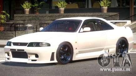 Nissan Skyline R33 Tuning V1.0 pour GTA 4