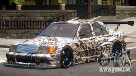 Mercedes 190E Sport PJ1 für GTA 4