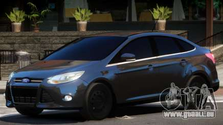 Ford Focus FBI pour GTA 4