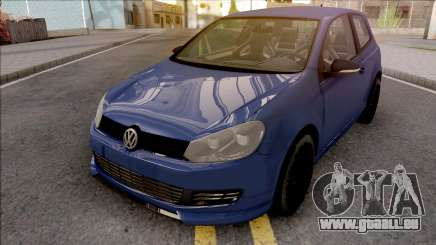 Volkswagen Golf 6 Auto Skola Team pour GTA San Andreas