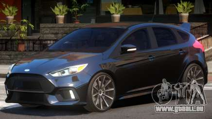 Ford Focus RS Tuned V1.0 pour GTA 4