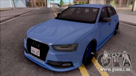 Audi RS4 Avant 2013 Tuned pour GTA San Andreas