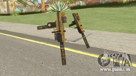 Micro SMG (Luxury Finish) GTA V Full Upgrade V1 pour GTA San Andreas