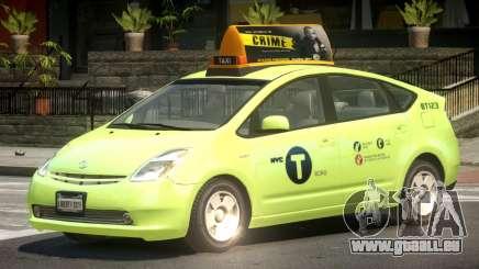 Toyota Prius 2 Taxi V1.3 pour GTA 4