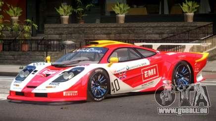 McLaren F1 GTR Le Mans Edition PJ2 pour GTA 4
