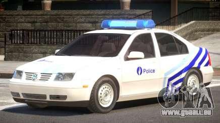 Volkswagen Bora Police V1.1 pour GTA 4