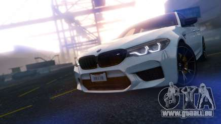 BMW M5 F90 2019 Competition V3.0 pour GTA 5