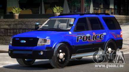 Ford Expedition Police V1.2 für GTA 4