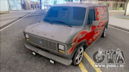 Ford Econoline E-150 Hot Wheels pour GTA San Andreas