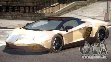Lamborghini Aventador STR PJ2 pour GTA 4