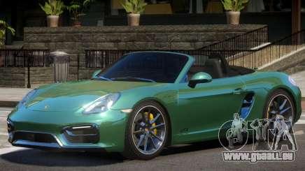 Porsche Boxster Custom pour GTA 4